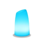3W Alexa Voice Control Smart Light WIFI Mobile Phone APP Atmosphere Night Light, Specification: 12x20cm (Oblique Station Lamp)