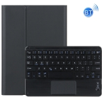 DY-M10ReL-C 2 in 1 Removable Bluetooth Keyboard + Protective Leather Case with Touchpad & Holder for Lenovo Tab M10 FHD REL (Black)