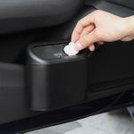 Vehicle Trash Can Bin Rubbish Bin Organizer Car-mounted Trash Storage Box