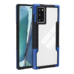 For Samsung Galaxy Note20 TPU + PC + Acrylic 3 in 1 Shockproof Protective Case(Blue)