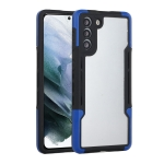 For Samsung Galaxy S21 5G TPU + PC + Acrylic 3 in 1 Shockproof Protective Case(Blue)