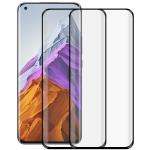 For Xiaomi Mi 11 Pro / 11 Ultra 2 PCS 3D Curved Silk-screen PET Full Coverage Protective Film(Black)