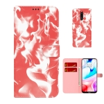 For Xiaomi Redmi 8 / 8A Cloud Fog Pattern Horizontal Flip Leather Case with Holder & Card Slot & Wallet(Red)