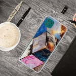For Samsung Galaxy A22 5G Abstract Marble Pattern TPU Protective Case(Water color)