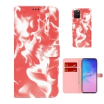 For Samsung Galaxy S10 Lite / A91 Cloud Fog Pattern Horizontal Flip Leather Case with Holder & Card Slot & Wallet(Red)