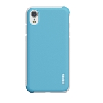 wlons PC + TPU Shockproof Protective Case For iPhone XR(Blue)