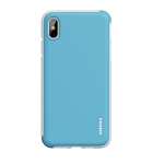 wlons PC + TPU Shockproof Protective Case For iPhone X / XS(Blue)