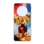 For Huawei Mate 40 Oil Painting Pattern TPU Shockproof Case(Vase)