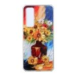 For Huawei nova 7 5G Oil Painting Pattern TPU Shockproof Case(Vase)