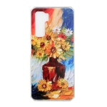 For Huawei nova 7 SE Oil Painting Pattern TPU Shockproof Case(Vase)