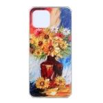 For Huawei nova 8 SE Oil Painting Pattern TPU Shockproof Case(Vase)