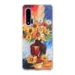 For Huawei nova 6 Oil Painting Pattern TPU Shockproof Case(Vase)