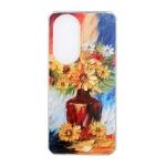 For Huawei nova 8 5G Oil Painting Pattern TPU Shockproof Case(Vase)