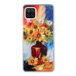 For Huawei P40 Lite Oil Painting Pattern TPU Shockproof Case(Vase)