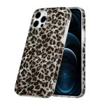 Shell Texture Pattern Full-coverage TPU Shockproof Protective Case For iPhone 12 Pro Max(Little Leopard)