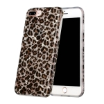 Shell Texture Pattern Full-coverage TPU Shockproof Protective Case For iPhone 7 Plus / 8 Plus(Little Leopard)