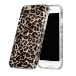 Shell Texture Pattern Full-coverage TPU Shockproof Protective Case For iPhone 6 Plus & 6s Plus(Little Leopard)
