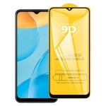 For OPPO A35 9D Full Glue Full Screen Tempered Glass Film