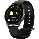 KIVEE KV-LW02 Large Curved Screen IP68 Waterproof Smart Watch, Support Sleep Monitoring / Heart Rate Monitoring / Blood Oxygen Monitoring(Black)