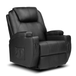 [US Warehouse] Full Body Recliner Chairs Leather Massage Chairs, Size: 35.8×35.8×43.2 inch