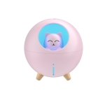 WK WT-A06 Planet Cat Silent USB Humidifier (Pink)