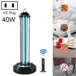 40W Smart Remote Control Desktop UV Light Lamp Disinfection Anti-virus Sterilization Lamp Bar Strip with Remote Control (US Plug)