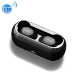 Original Xiaomi Youpin T1 Youth Edition TWS Bluetooth V5.0 Wireless In-Ear Earphones with Charging Box (Black)