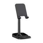 TOPK D23 Adjustable Angle Desktop Holder Lazy Bracket for 4-12.9 inch Phones / Tablets(Black)