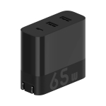 Original Xiaomi ZMI HA835 65W 3-Ports Quick Charge Version USB Charger, CN Plug (Black)