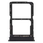 SIM Card Tray + NM Card Tray for Huawei P Smart S (Black)