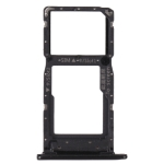 SIM Card Tray + SIM Card Tray / Micro SD Card Tray for Honor 9S (Black)