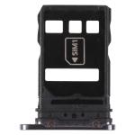 SIM Card Tray + NM Card Tray for Huawei P40 Pro+ (Black)