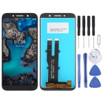 LCD Screen and Digitizer Full Assembly for Nokia C1 Plus TA-1312(Black)