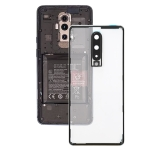 Battery Back Cover With Camera Lens for OnePlus 8(Transparent)