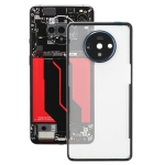Battery Back Cover With Camera Lens for OnePlus 7T(Transparent)