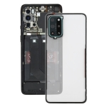 Battery Back Cover With Camera Lens for OnePlus 8T(Transparent)