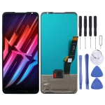 OLED Material LCD Screen and Digitizer Full Assembly for ZTE Nubia Red Magic 6 / Nubia Red Magic 6 Pro