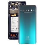 Original Battery Back Cover for TCL 10 Pro T799B T799H(Green)