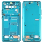 Front Housing LCD Frame Bezel Plate for TCL 10 Pro T799B T799H (Green)