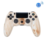 Wireless Bluetooth Game Handle For PS4, Product color: Bluetooth Version (Wood Pattern)