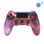 Wireless Bluetooth Game Handle For PS4, Product color: Bluetooth Version (Red Starry Sky)