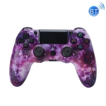 Wireless Bluetooth Game Handle For PS4, Product color: Bluetooth Version (Purple Starry Sky)