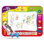 Children Magic Graffiti Water Drawing Mat, Style: Large Color-Bagged