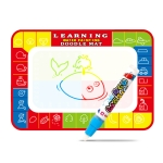 Children Magic Graffiti Water Drawing Mat, Style: Small Four Color-Bagged