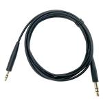 2 PCS 3.5mm To 2.5mm Audio Cable For Bose QC25 / QC35 / Soundtrue / SoundLink / OE2(Black)