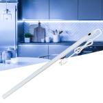 2 PCS 20cm LED Induction Cabinet Lamp USB Smart Sensing Light Strip(Whte)