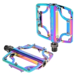 1 Pair WEST BIKING YP0802081 Mountain Road Bike Colorful Pedals(Colorful)