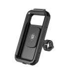 Kewig Bicycle Motorcycle Waterproof Box Mobile Phone Bracket Riding Touch Mobile Phone Fixed Seat(M18S-B1 Small Handlebar Installation)