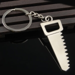 10 PCS Tool Metal Keychain Car Key Ring Pendant, Colour: H-401 Saw
