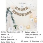 Mori Children Birthday Balloon Decoration Party Background Wall Decoration Package Specification: Type 9